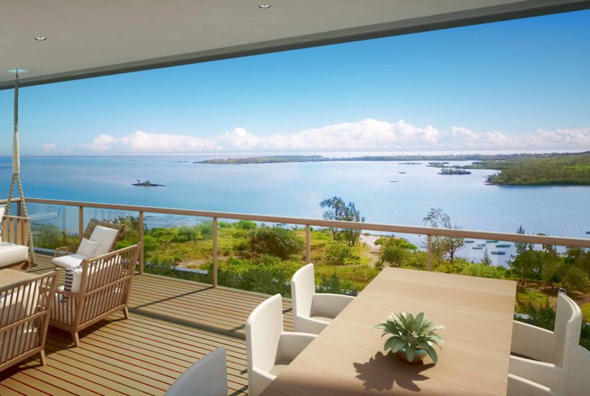 St. Antoine Private Residence - Sea view from apartment - (c) Mauritius Sotheby's International Realty