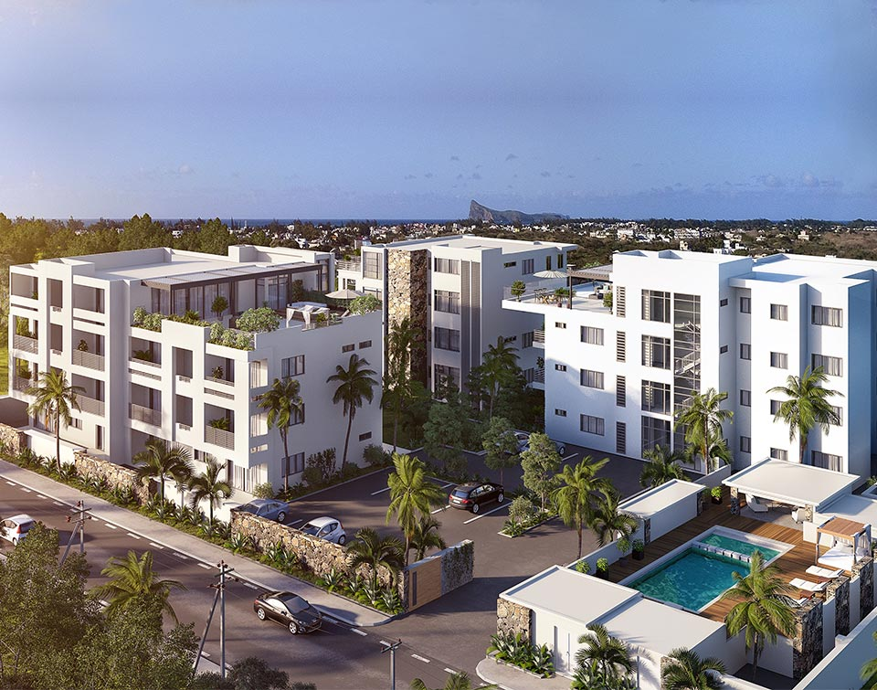 Olivier court r sidences appartement 124 m grand baie for Appartement court